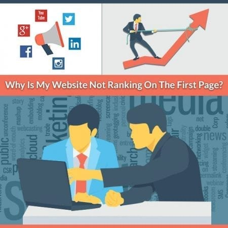 Why Is My Website Not Ranking on the First Page?