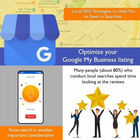 Local SEO Strategies to Help You be Seen in Searches