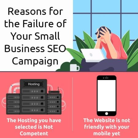 Reasons For The Failure Of Your Small Business SEO Campaign