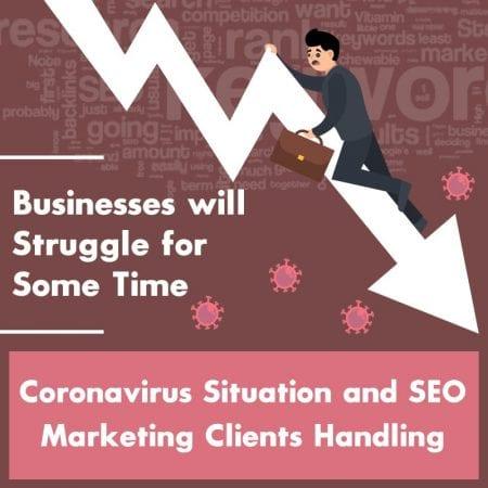 Coronavirus Situation And SEO Marketing