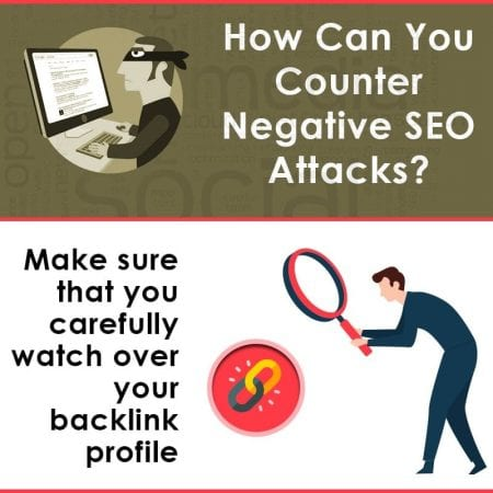 How Can You Counter Negative SEO Attacks?